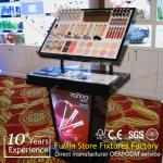 High quality shop cosmetic display cabinet and showcase/ cosmetic cabinet
