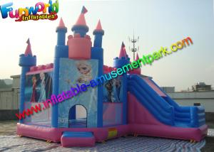 China Frozen Princess Inflatable Bouncer Castle , Princess Jumping House For Kids on sale
