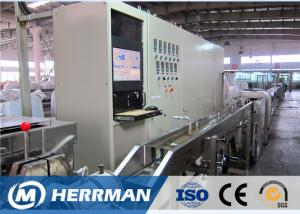 China BM Screw Optical Fiber Cable Sheathing Machine For Steel Wires / FRP Enforced Tube on sale