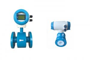 China Conductive Fluids Electromagnetic Flow Meter , Magnetic Water Flow Meter on sale