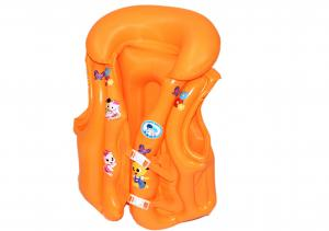 China Cute Durabale Pvc Inflatable Life Vest , Safe Inflatable Jack For Kids on sale