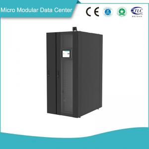China Ventilation Cooling Micro Modular Data Center High Expandable Monitoring System on sale