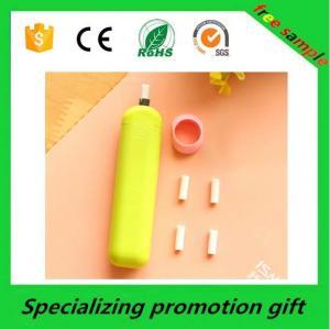 China Borrador con pilas coloreado de los efectos de escritorio del lápiz promocional del regalo on sale