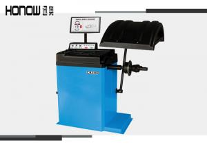China Self Calibration Tyre Repair Machine , 3D Tyre Balancing Machine 210rpm Speed on sale