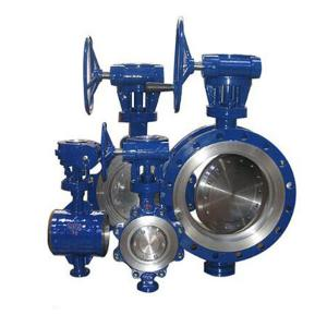 China High performance eccentric double flange reducer butterfly valve on sale