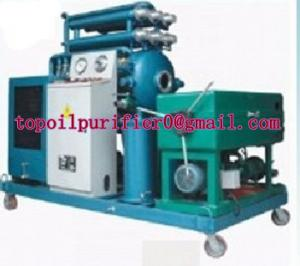 China Stainless steel dirty vegetable oil processing machine,remove particles,odor,water and alcohol,less power consumption on sale