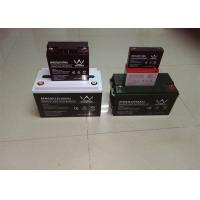 155ah 12v Front Terminal Battery / Deep Cycle Solar Battery For Telecommunication Networks