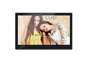 China 14 Inch Digital Photo Frame Slideshow / Digital Camera Frame Android System on sale