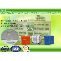 China Einecs No. 203-940-1 Diethylene Glycol Monoethyl Ether Acetate For Cellulose Esters on sale