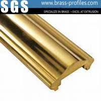 Good Design Extruding Brass Hand Rails With Polishing Process