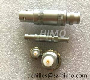 China Factory price self-locking lemo S series coaxial cable connector plug and socket on sale