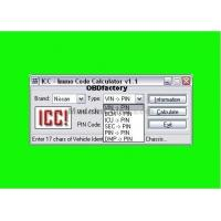 Original ICC IMMO Calculator, Automotive Diagnostic Software for Nissan and Infinity