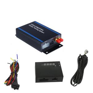 China Car Locator Device With Ultrasonic Fuel Sensor , Fuel Consumption Monitoring Systems For Vehicles on sale