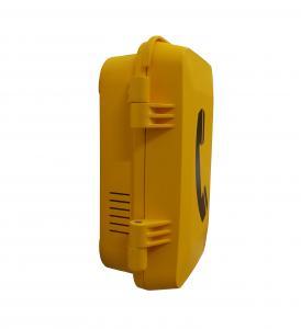 China Aluminum alloy die-cast VoIP heavy duty waterproof telephone, vandal resistant, all weatherproof emergency telephone on sale