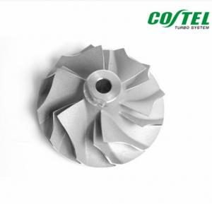 China High Performance Billet Compressor Wheel Garrett T2 For Auto Engine on sale