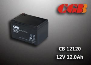 China CB12120 12AH Deep Cycle Lead Acid Battery Sealed / V0 Plastic 12v Ups Battery on sale