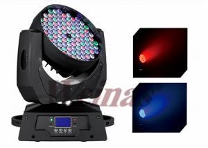 China 3w 108pcs RGBW Led Wash Moving Head Light For Stage Moving Heads Light Led Light on sale