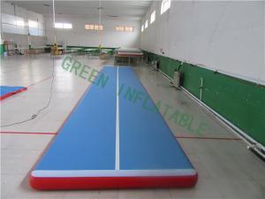 China Waterproof Inflatable Gymnastics Track , Modern Inflatable Floor Mats on sale