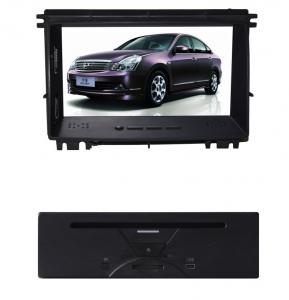 China Automatic PAL NTSC SECAM Vedio Car Gps Navigation System For Nissan Sylphy 2010 on sale