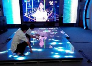 China Disco Design Nightclub Led Dj Stage Dance Floor With 65536 Pixel Density on sale