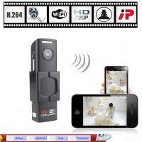 Wholesale - H.264 HD 720P Mini Wifi IP Camera Wireless Hidden Spy Security Camera DVR CCTV