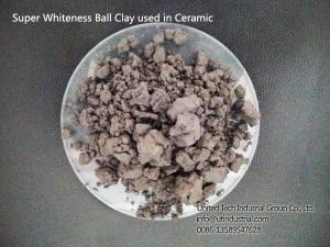 China High plasticity ball clay for ceramic, refractories, Super-Whiteness Ball Clay For Ceramic Tile on sale