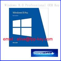 Windows 8 oem/fpp key ,Windows 8 professional product key