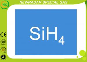 China Silane Gas SiH4 Silicon Hydride Electron Gas Repulsive Odor 1.342 G/Cm3 For Solar on sale