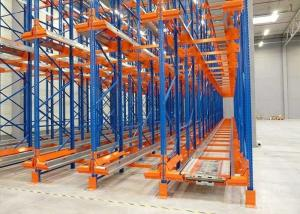 China Certificated Cold Storage Electric Automatic Pallet Radio Shuttle Racking Racks Systems on sale