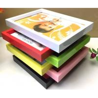 China PVC plastic hand-make Children photo frame with different color available on sale