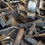Rails utilisés, hms, chutes en acier, aciers de chute, chutes de cuivre