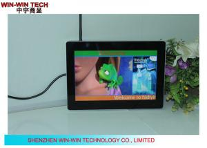 China HD Smart Digital Signage Advertising Totem  , LCD Monitor Video Badge on sale
