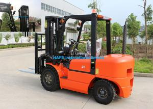China 3.5T Diesel Forklift Truck Yanmar Engine Type Fork Length 1070mm With Toolbox on sale