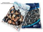 フリーザー貯蔵を包んでいる調理されたムラサキ貝のための印刷された薄板にされた真空パック袋