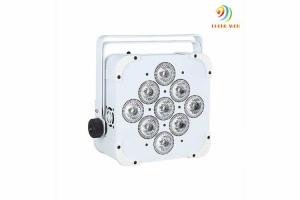 China Durable Dmx Par Light , Battery Operated Wireless Led Portable Uplight Can Spot Lights on sale