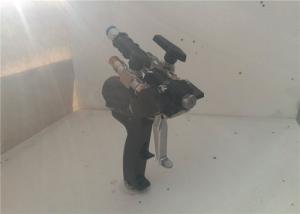 China Easy Handling Double Spray Gun, Polyurethane Foam Gun Self Cleaning With Air on sale