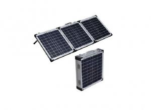 China Portable Folding Solar Panels / Crystalline Solar Panel Pre - Installed Controller on sale