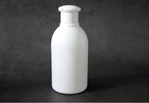 China Clamshell Shampoo Custom Plastic Bottle , 250ml PE Body Wash Bottle on sale
