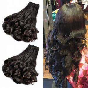 China Malaysian Spring Curly Virgin Hair Funmi Hair Weave Bouncy Curls on sale