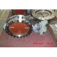 Electric Actuated Butterfly Valve , DN50 - DN2400 Wafer Butterfly Valve Flange Type