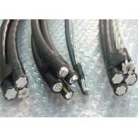 PVC / PE / XLPE Insulation ABC Power Cable Triplex Conductor For Overhead Transmission