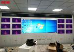 High Brightness Commercial Video Wall Built - In Splicing Module 55""
