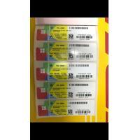 Genuine Windows 10 Key Code COA Sticker Win 10 Pro Pack 32 Bit / 64 Bit OEM SAMPLE FREE