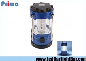 China 12 LED Bivouac Led Camping Lantern With Compass Plastic 3 X AA Batteries on sale
