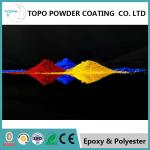 Electrostatic Spray Thermoset Pure Epoxy Powder Coating RAL 1003 Signal Yellow Color