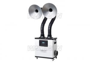 China Double Arm Moxibustion dust and fume extraction systems for Hair Salon on sale