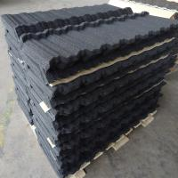 Modern Nosen / Flat / Roman Stone Coated Roof Tiles for Villas / Townhouses