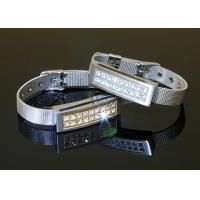 Silver Metal Jewel Bracelet Thumb Drive , Flash Drive Bracelet Cute