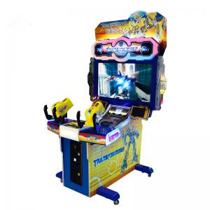 China Coin Operated Simulator Arcade Gun Video Games Transformers Shooting Game Machine for Sale on sale