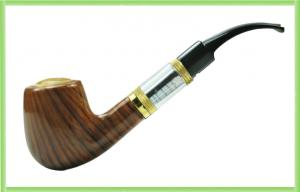 China Wooden 900mAh Huge Vapor E-Pipe Electronic Cigarette 800 - 1000puffs on sale